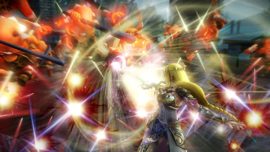 Zelda joins the fight!