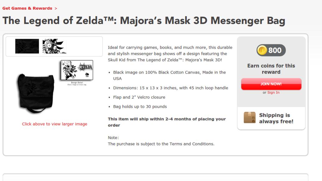 Majora's Mask Messenger Bag