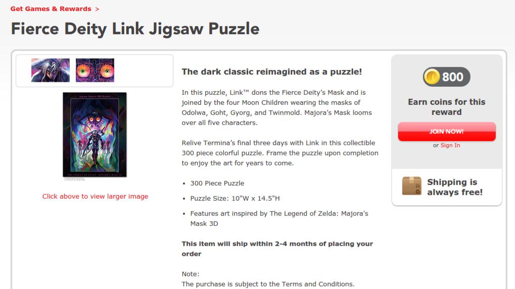 Fierce Deity Link Puzzle