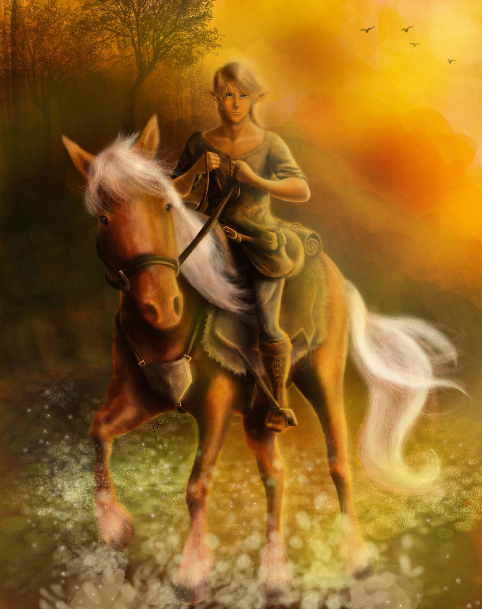 On A Horse (deviantArt)