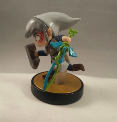 Custom Fierce Deity Toon Link amiibo Created by a Fan