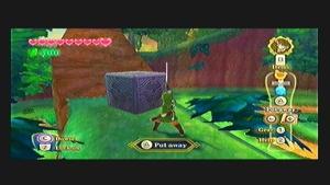 Skyward Sword Faron Woods Goddess Cube