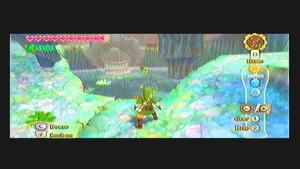 Skyward Sword Lake Floria Cube