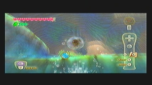 Skyward Sword Lake Floria Goddess Cube