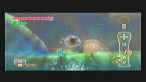 Skyward Sword Lake Floria Goddess Cube