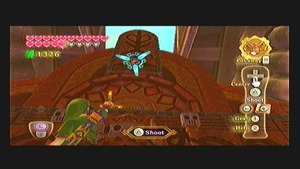 Skyward Sword Pirate Stronghold Goddess Cube