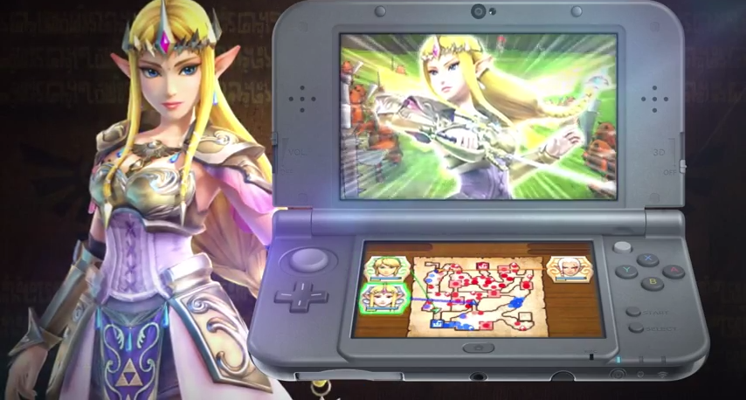 Hyrule Warriors for 3DS