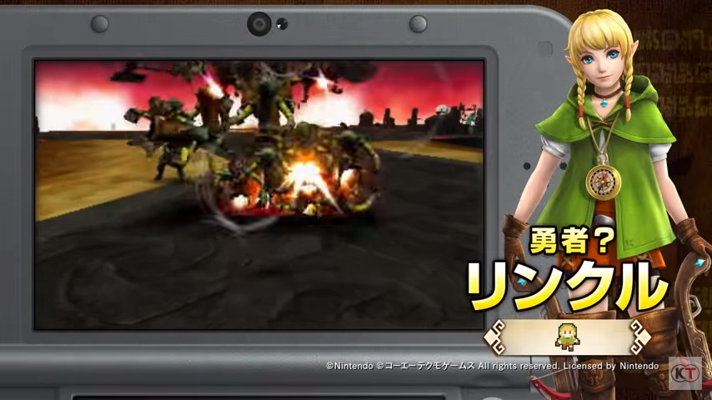 New Trailer Showcases Characters and New Features in Hyrule Warriors Legends
