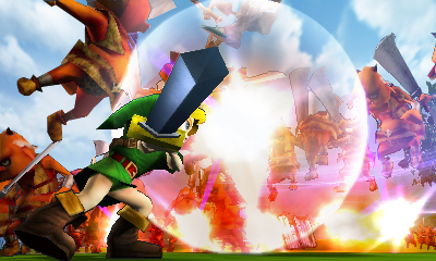 Hyrule Warriors Legends E3 2015 Screenshot