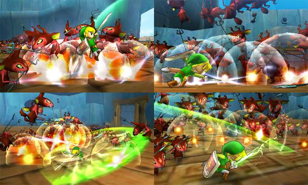 Hyrule Warriors Legends - Toon Link Screenshots