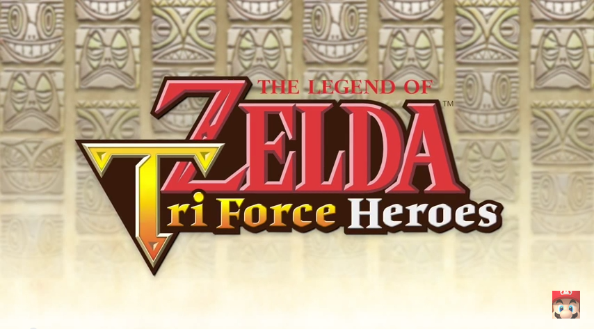 Tri Force Heroes Logo