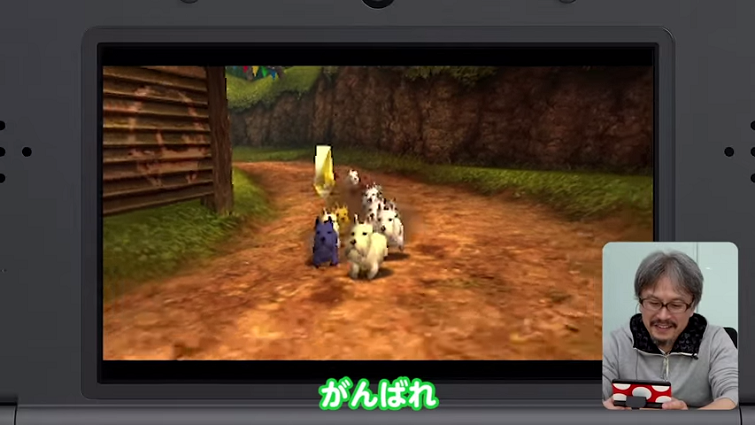 Majora's Mask 3D Dog Race