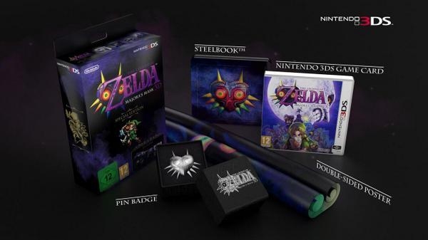 Majora's Mask 3D Collectors Edition