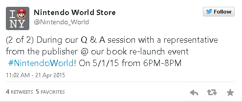 Nintendo World Store Hosting Publisher Q&A for A Link to the Past Novel