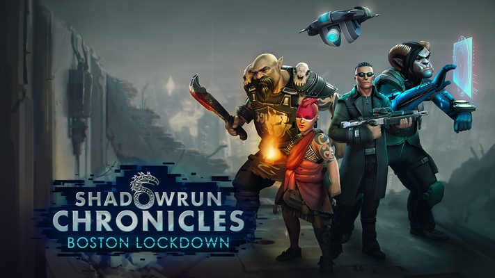 Shadowrun Chronicles Boston Lockdown Art