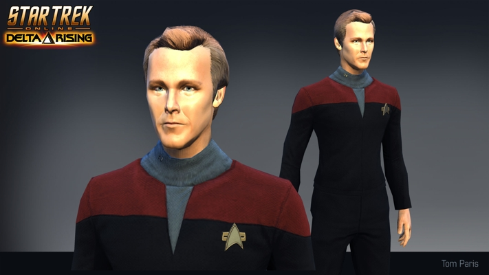 Star Trek Online Tom Paris
