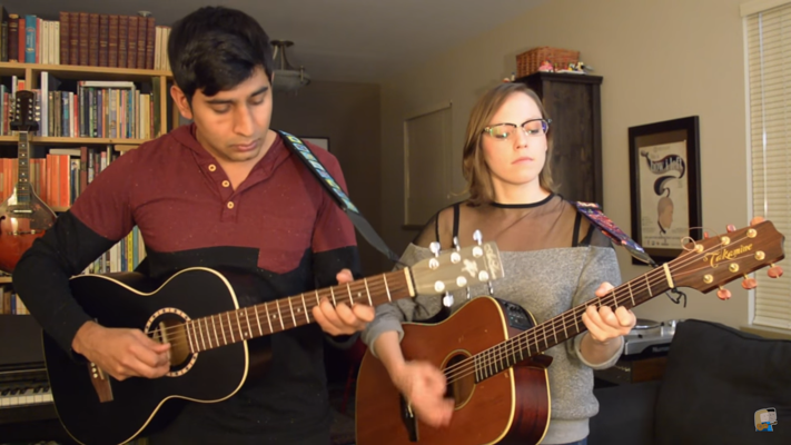 Beautiful Acoustic A Link Between Worlds Medley Performed by The Team Players