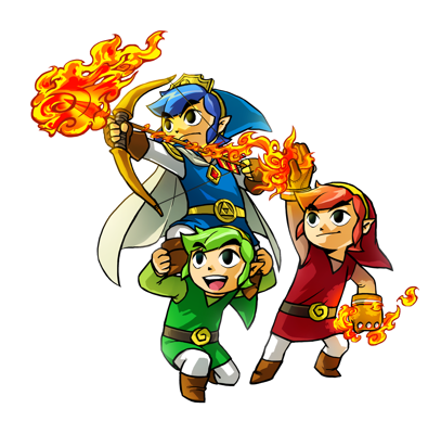 No Plans for Tri Force Heroes to Support amiibo
