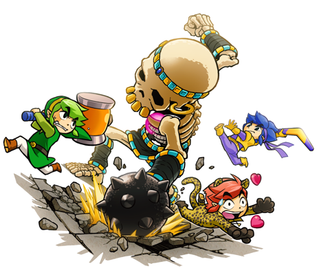 Tri Force Heroes is Not Part of the Zelda Timeline