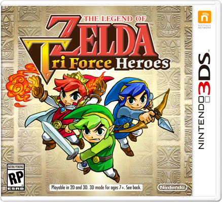 Tri Force Heroes Box Art
