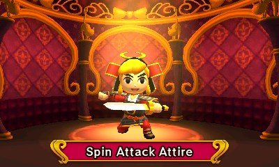 Tri Force Heroes Costumes