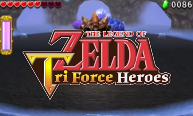 North American Tri Force Heroes Commercial Shows Off Game Mechanics