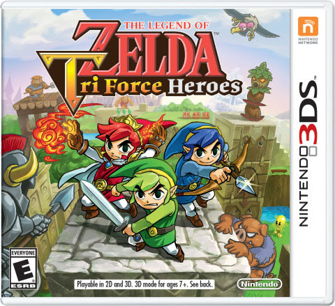 Tri Force Heroes Launches on the eShop at Midnight!