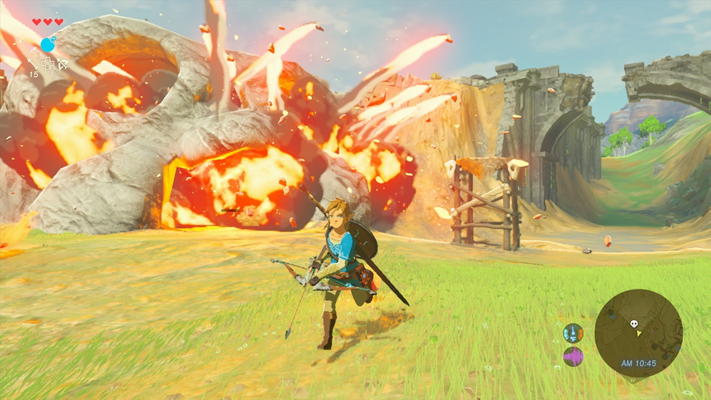 Breath of the Wild E3 2016 Screenshot