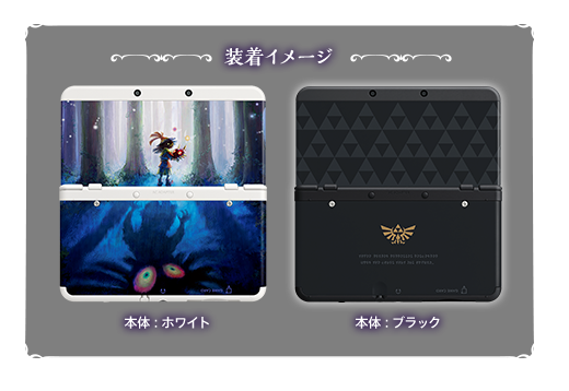 Zelda New 3DS Faceplates