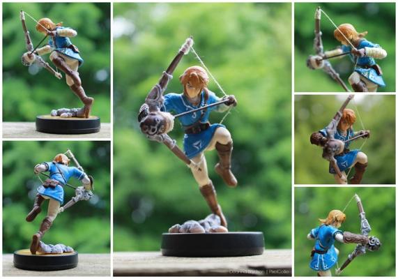 Zelda Wii U Custom amiibo